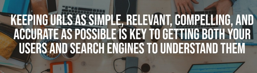 Keeping URLs as simple, relevant, compelling and accurate as possible is the key to getting both your users and search engines to understand them